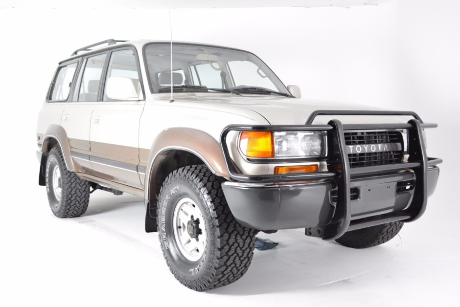 One-owner 1991 Toyota Land Cruiser Fj80 - The Bid Watcher