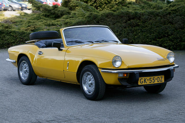 1980 Triumph Spitfire 1500 Two Seater Sports Convertible