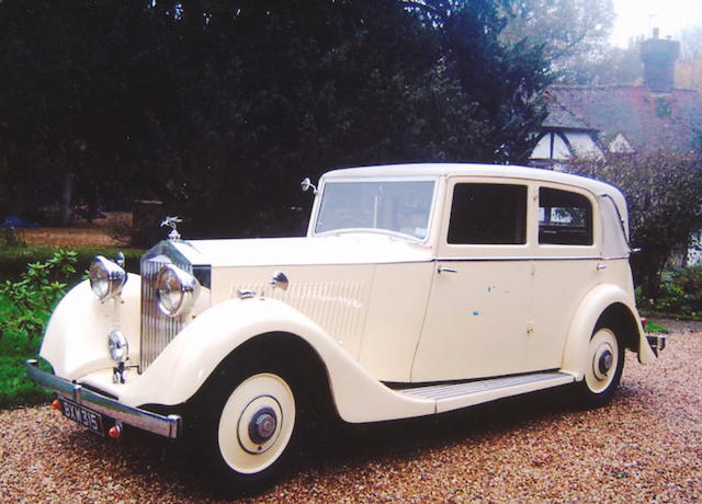 1935 Rolls-Royce 20/25hp Saloon