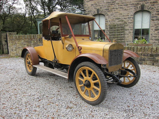 c.1920 Hillman Two-Seat Tourer with Dickey