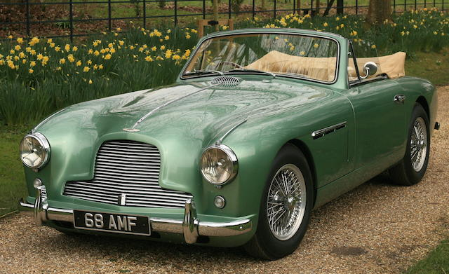 1953 Aston Martin Db24 Mark I Drophead Coup The Bid Watcher