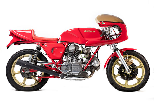 1976 Ducati 750SS 'NCR' Re-creation