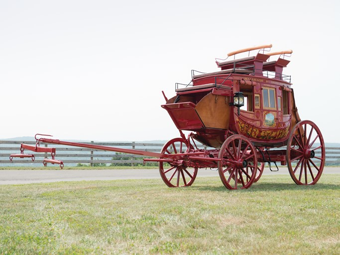 1860 Abbott-Downing Stagecoach