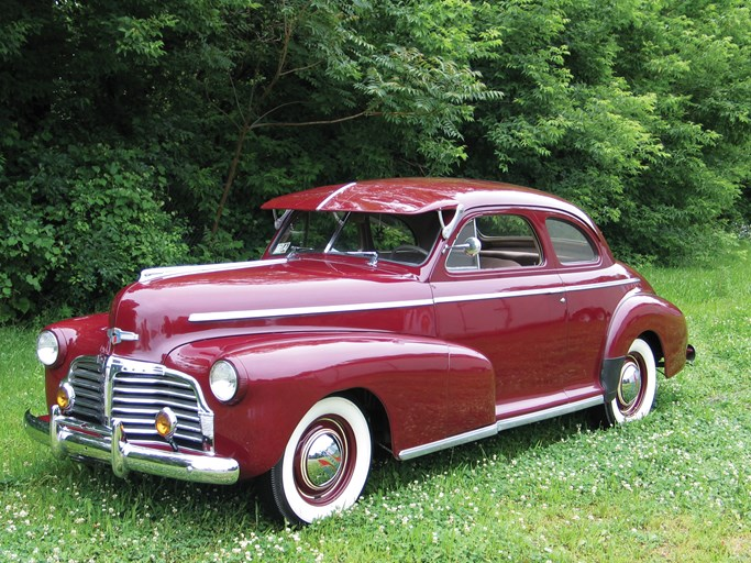 1942 Chevrolet Master Deluxe Coupe - The Bid Watcher