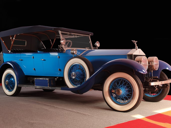 1923 Rolls-Royce Silver Ghost Oxford Seven-Passenger Touring by Rolls-Royce Custom Coach Work