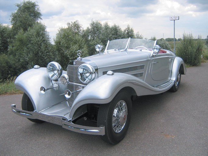 1936 Mercedes Benz 540k Special Roadster The Bid Watcher
