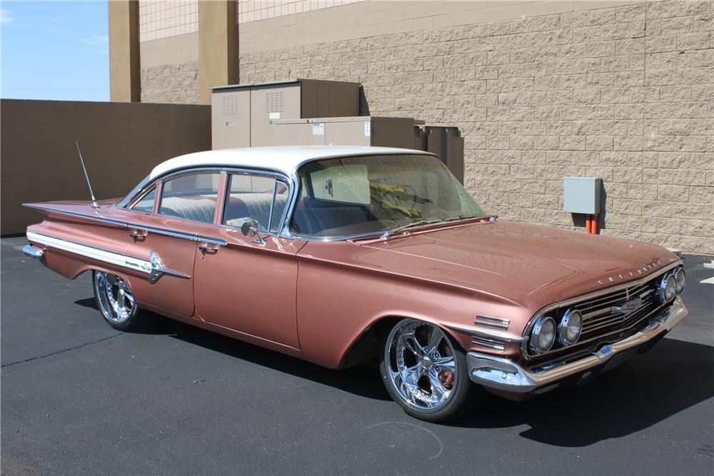 1960 Chevrolet Impala Custom 4 Door Sedan The Bid Watcher