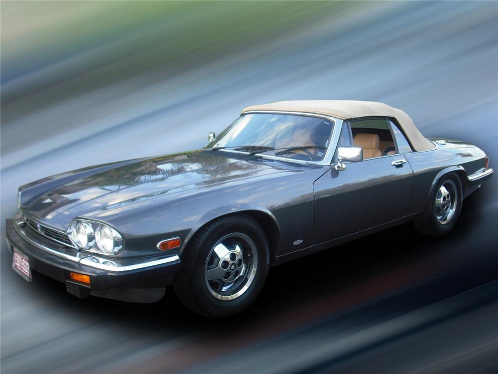 1987 jaguar xjs hess & eisenhardt convertible - the bid watcher