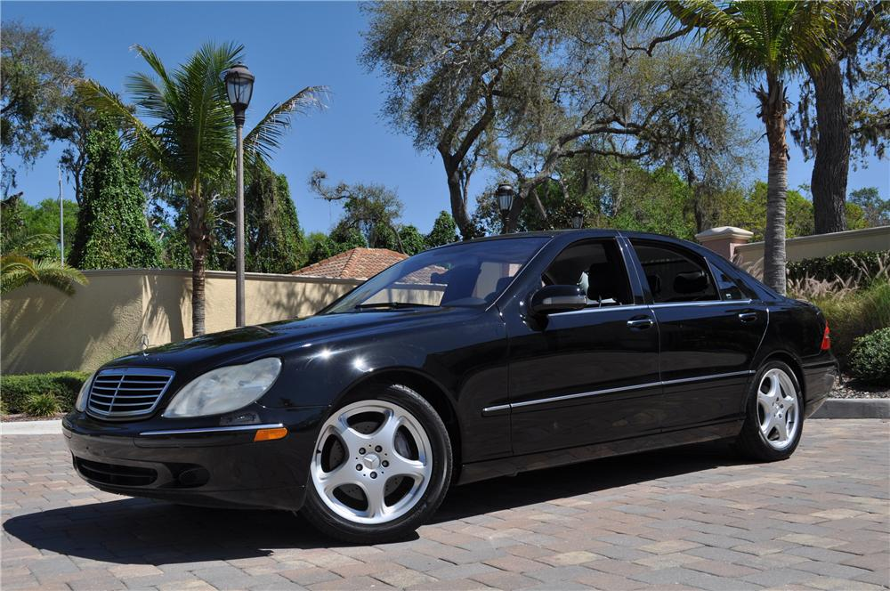 2002 MERCEDES-BENZ S500 4 DOOR SEDAN