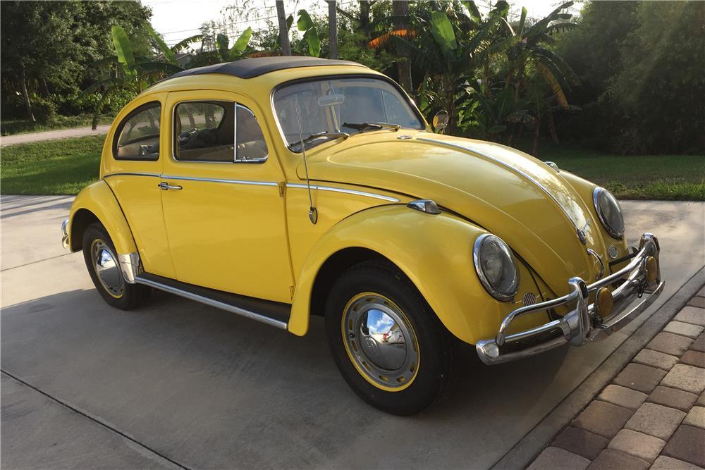 1960 Volkswagen Beetle Sunroof The Bid Watcher