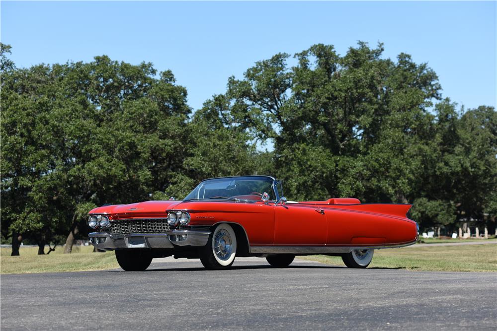 1960 Cadillac Eldorado Convertible The Bid Watcher