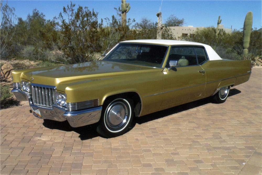 1970 Cadillac Coupe De Ville 2 Door Coupe The Bid Watcher