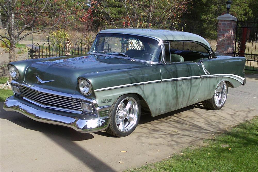 1956 Chevrolet Bel Air Custom 2 Door Hardtop The Bid Watcher