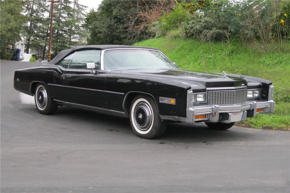 1976 Cadillac Eldorado Convertible The Bid Watcher