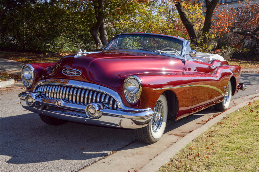 1953 Buick Skylark Convertible The Bid Watcher