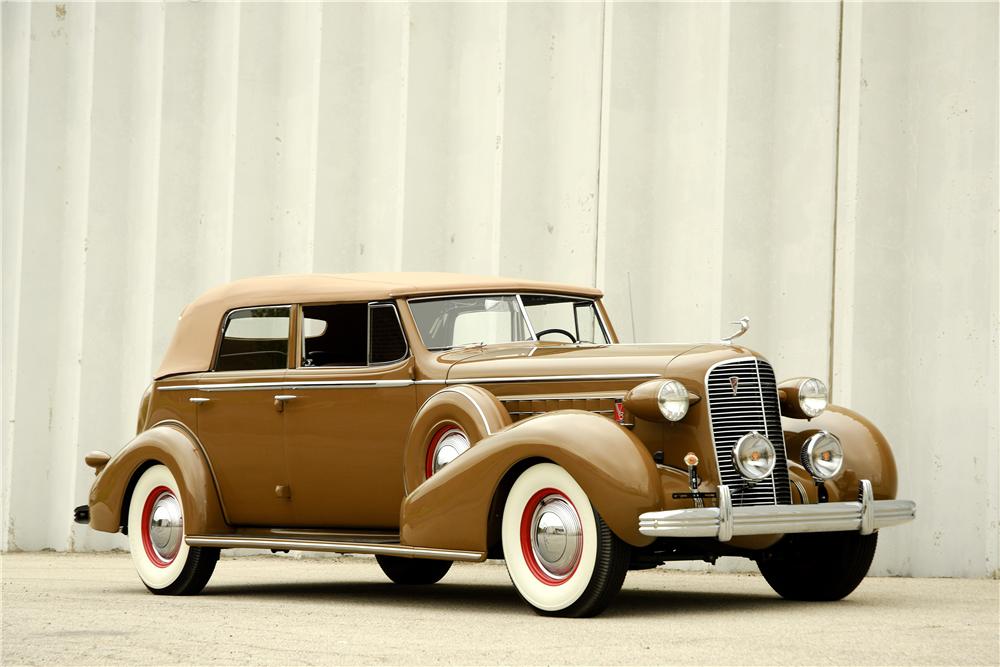 1936 Cadillac Series 75 Convertible Sedan The Bid Watcherrhthebidwatcher: 1936 Cadillac Vin Location At Gmaili.net