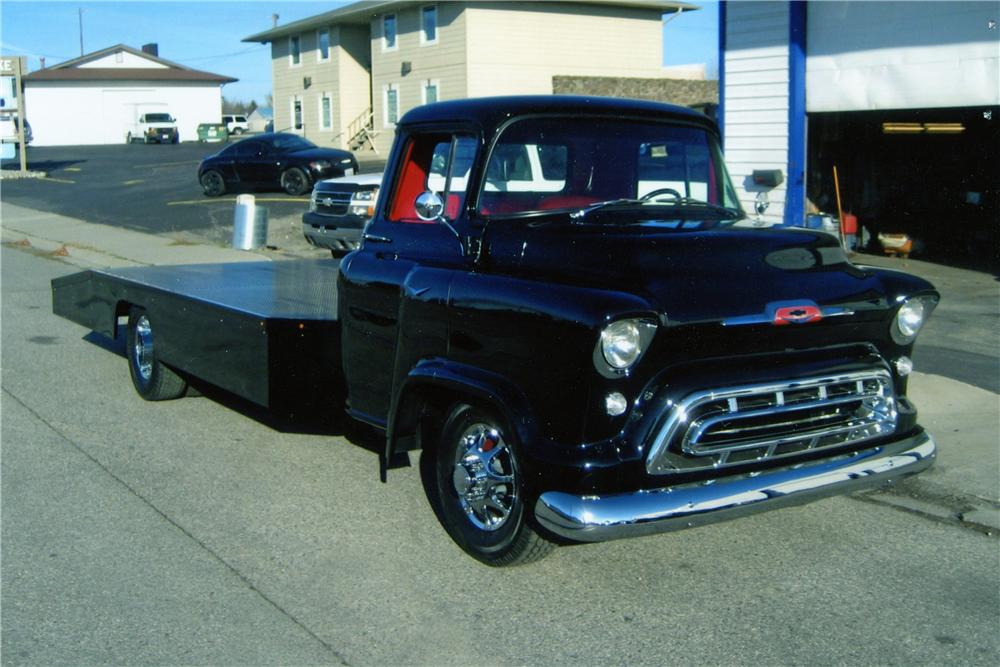 1957 chevrolet custom pickup the bid watcher rh thebidwatcher com