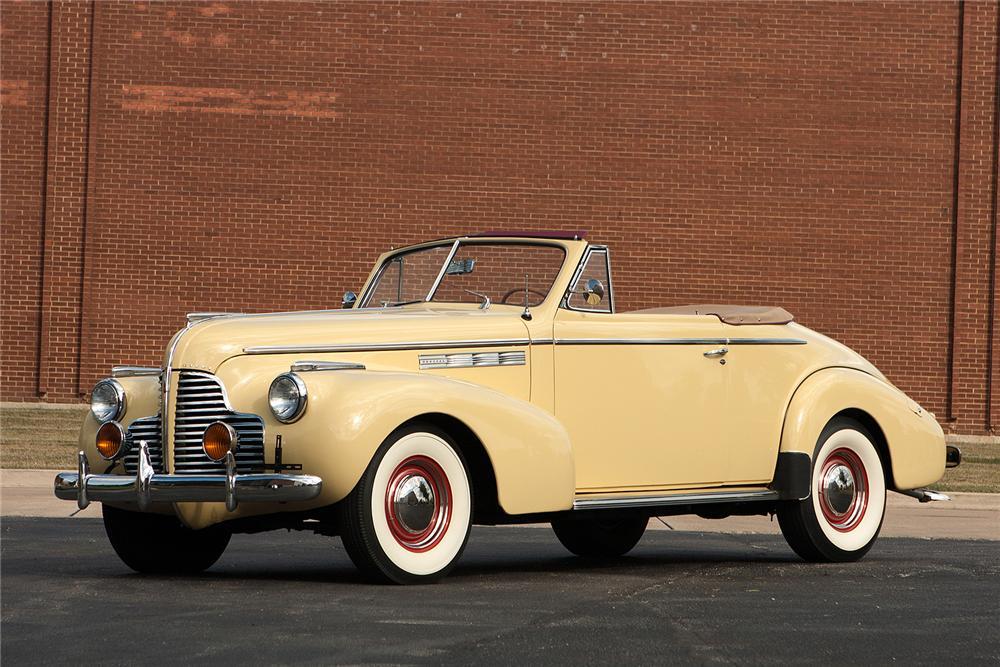1940 Buick Special Convertible The Bid Watcher