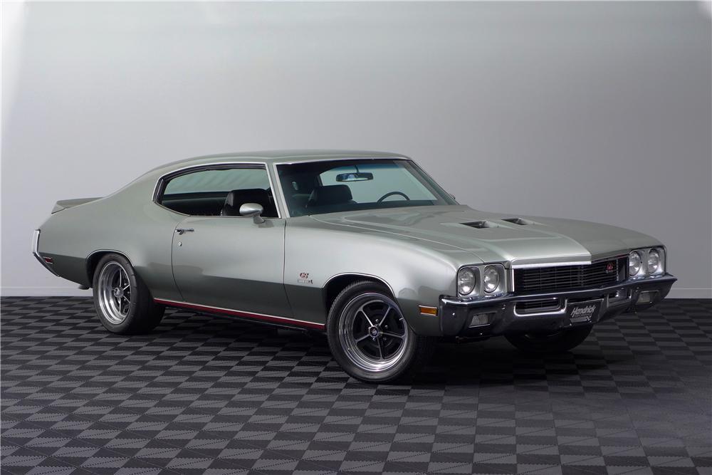 1972 buick gs 455 stage 1 custom 2 door coupe - the bid watcher