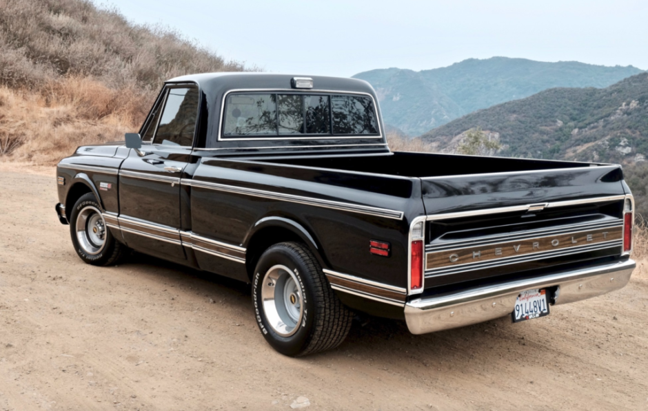 Modified 1972 Chevrolet C10 Pickup
