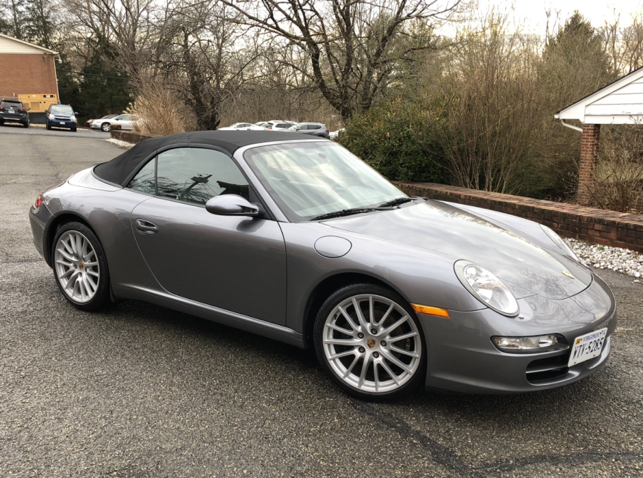 2006 Porsche 911 Carrera Cabriolet 6-Speed