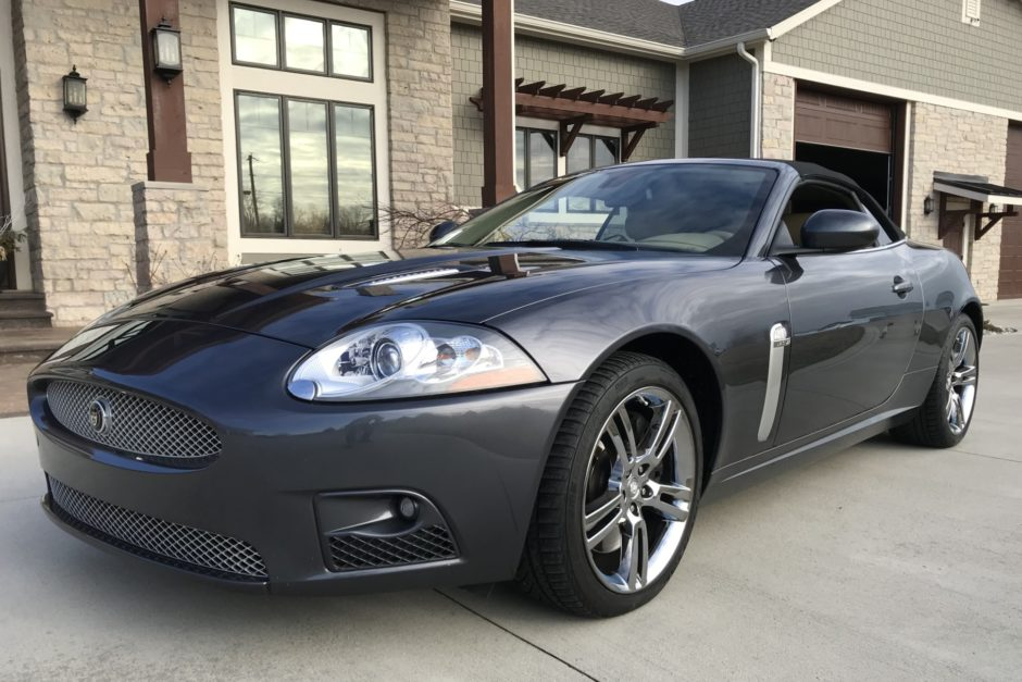 36k-Mile 2007 Jaguar XKR Convertible
