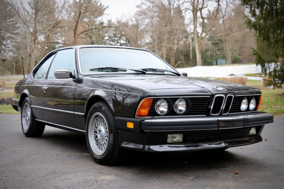 1985 BMW 635CSi 5-Speed