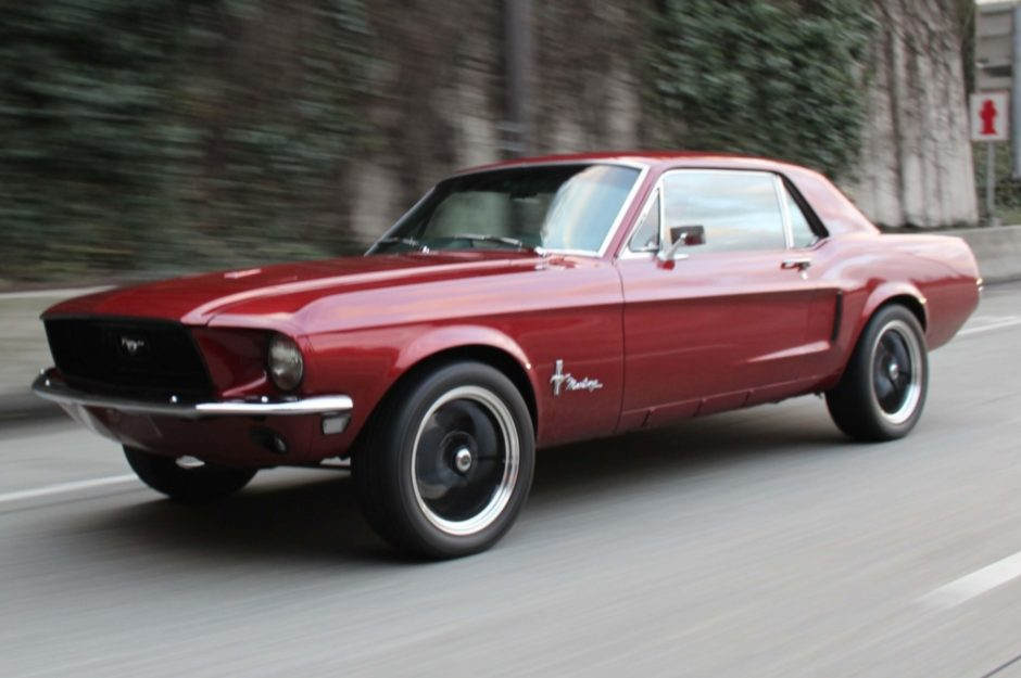 1968 Ford Mustang 302 4-Speed