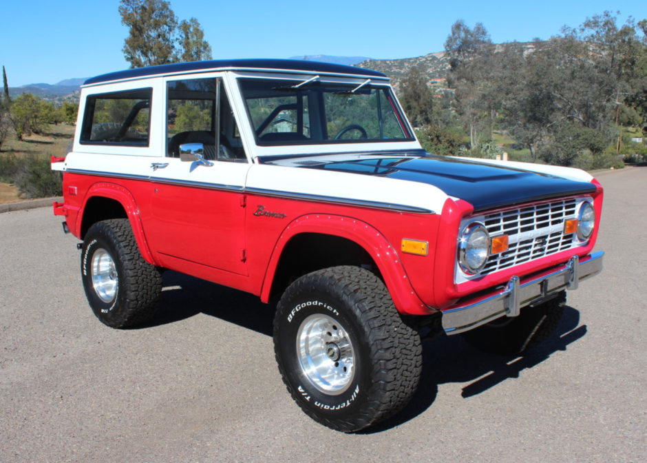 1972 Ford Bronco Bill Stroppe Baja Tribute