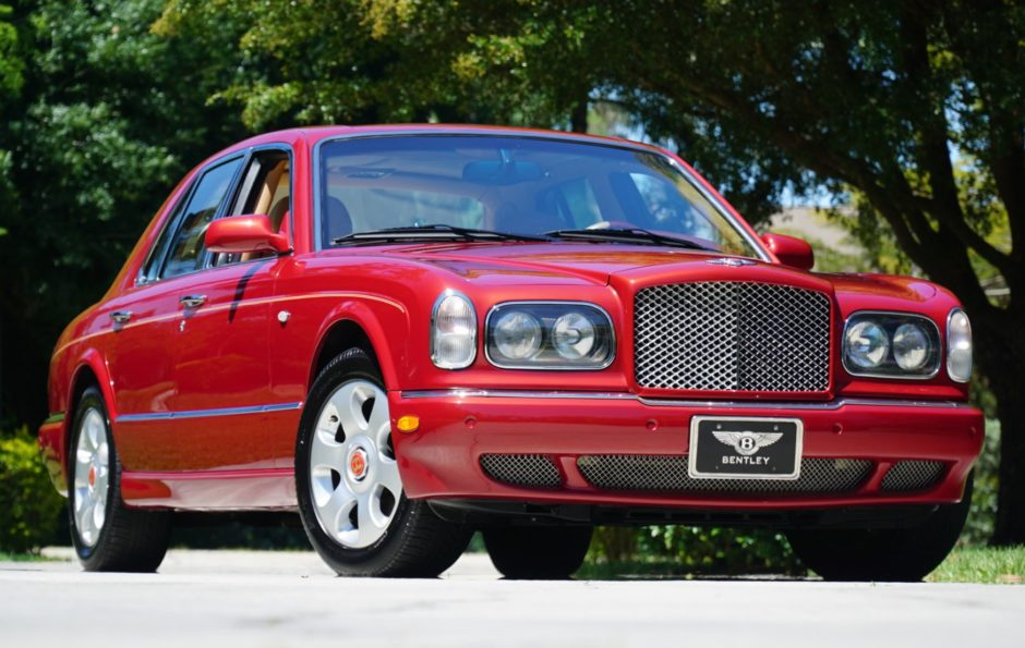 7,700-Mile 2001 Bentley Arnage Red Label