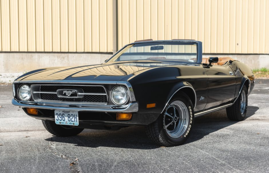 One-Owner 1972 Ford Mustang Convertible