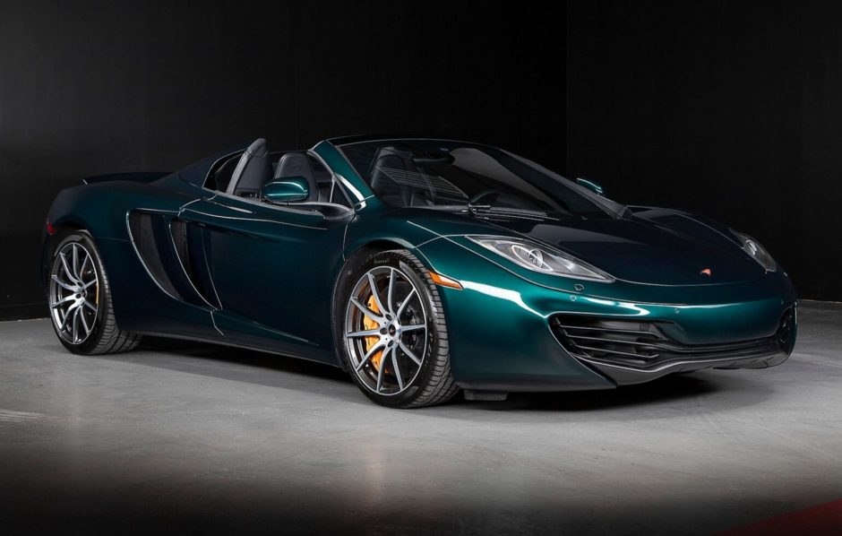 9k-Mile 2014 McLaren MP4-12C Spider