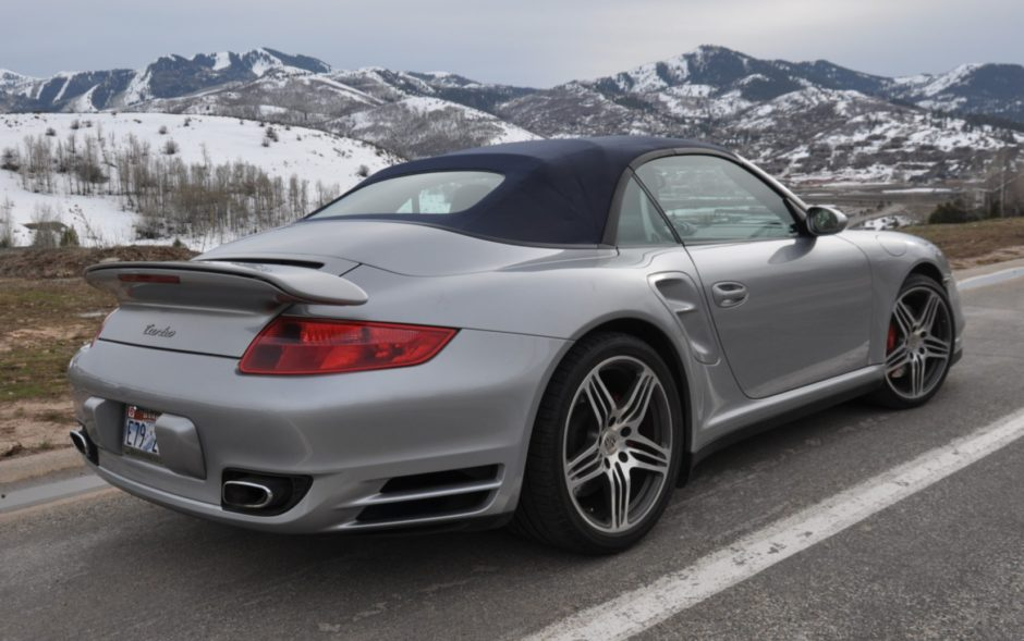 2009 Porsche 911 Turbo Cabriolet 6-Speed