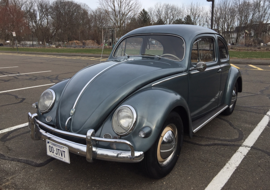 42-Years-Owned 1956 Volkswagen Beetle Deluxe