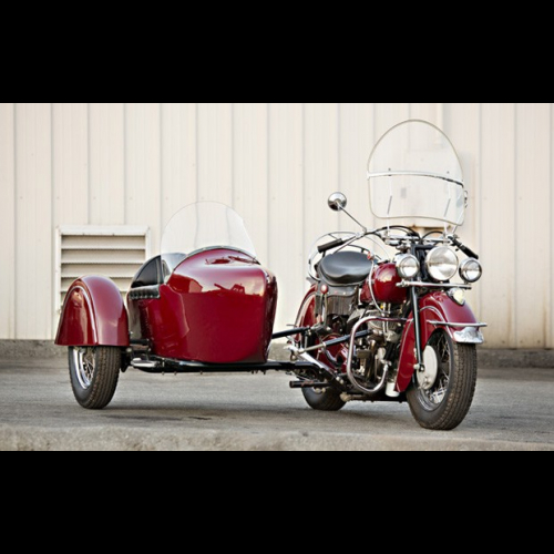 1947 Indian Chief Motorcycle With Sidecar - The Bid Watcher