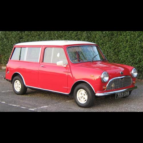 0cbcf8640b 1963 Austin Minivan - The Bid Watcher