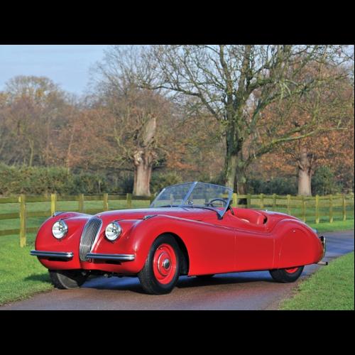 Jaguar Xk120 Coupe: 1949 Jaguar Xk120 Alloy Roadster