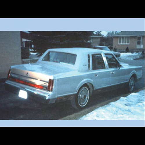 1988 Lincoln Towncar Limousine The Bid Watcher