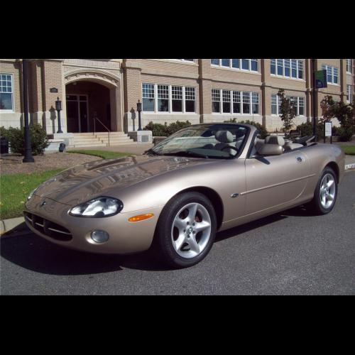 2001 Jaguar Xkr For Sale In Tampa Florida: 2001 Jaguar Xk8 Convertible